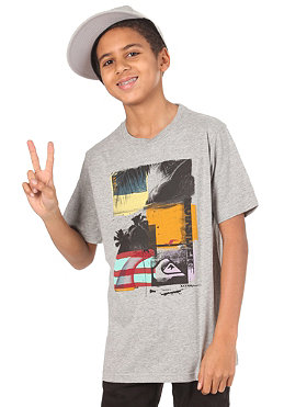 QUIKSILVER KIDS/ Checkmate S/S T-Shirt light grey heat
