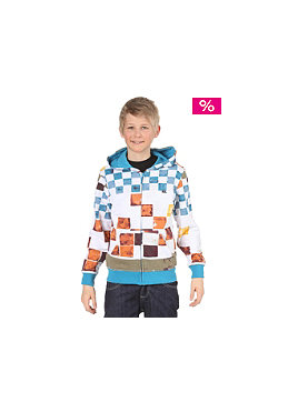 QUIKSILVER Kids DNA Hooded Zip Sweat white