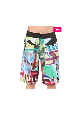 QUIKSILVER Kids Fins Out Boardshort white