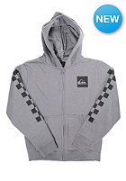 QUIKSILVER Kids God H6 B Hooded Zip Sweat med grey heathe
