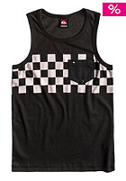 QUIKSILVER Kids Hiawatha Check Tank Top vintage black