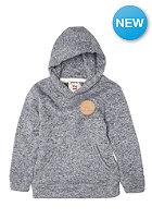 QUIKSILVER Kids Keller Hooded Knit Sweat med grey heathe