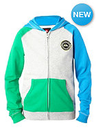 QUIKSILVER Kids Kingscotte Hooded Zip Sweat shamrock