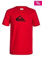 QUIKSILVER Kids Logo BR A5 S/S T-Shirt quik red