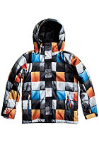 QUIKSILVER Kids Mission 10K Jacket checkblue redem