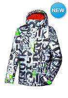 QUIKSILVER Kids Mission Print Jacket bright white