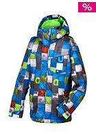 QUIKSILVER Kids Mission Print Jacket brillant blue