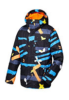 QUIKSILVER Kids Mission Print Jacket caviar