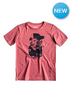 QUIKSILVER Kids New Marle BB5 S/S T-Shirt garnet rose