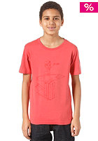 QUIKSILVER Kids Nomad Organic Youth S/S T-Shirt smoked red