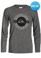 QUIKSILVER Kids QS G8 Longsleeve med grey heather