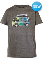 QUIKSILVER Kids QS T F24 S/S T-Shirt med grey heather