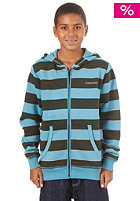 QUIKSILVER KIDS/ Roaster Hooded Zip teal blue