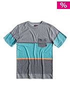 QUIKSILVER Kids Stick And Move S/S T-Shirt haggis grey