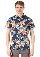 QUIKSILVER Lagoon Road S/S T-Shirt navy hawaiian p
