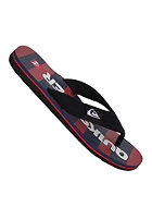 QUIKSILVER Layback Signature Sandals navy red white