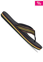 QUIKSILVER Mast Sandal red/yello/green