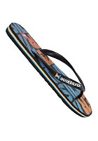 QUIKSILVER Molokai Dipped Sandals black blue org