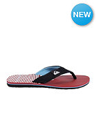 QUIKSILVER Molokai Layback Sandals black/blue/red - combo