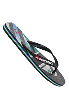 QUIKSILVER Molokai Screenline Sandals black blue green