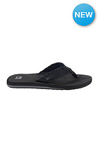 QUIKSILVER Monkey Abyss Sandals black/black/brown - combo