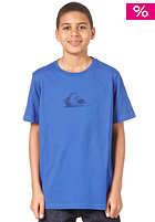 QUIKSILVER Mountain and Wave S/S T-Shirt cobalt