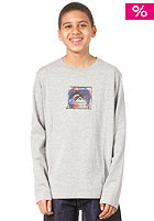 QUIKSILVER Movement L/S T-Shirt light grey heat