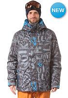 QUIKSILVER Mssin Print Ins Jacket asphalt