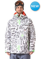 QUIKSILVER Mssin Print Ins Jacket bright white