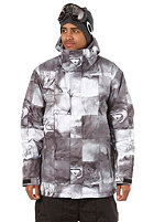 QUIKSILVER Next Mission Printed Jacket inkisition black