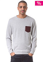 QUIKSILVER Padstow Knit Sweat lgt grey heathe