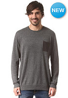 QUIKSILVER Pendle Knit Sweat phantom - solid