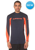 QUIKSILVER Performer L/S blue/blue/orange - combo
