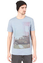 QUIKSILVER Pocket S/S T-Shirt dirty blue