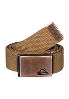 QUIKSILVER Principle Belt dull gold - solid