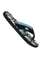 QUIKSILVER Quilted Cush Sandals black blue black