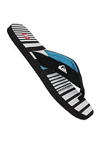 QUIKSILVER Quilted Line Up Sandals black white blue