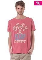 QUIKSILVER Roadie V3 S/S T-Shirt garnet rose