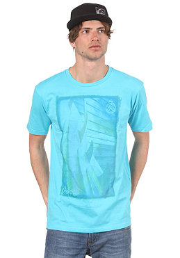 QUIKSILVER Single Fin Basic S/S T-Shirt blackies blue