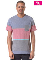 QUIKSILVER Stick And Move S/S T-Shirt bright colbalt