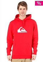 QUIKSILVER Summer Rib Logo Hooded Sweat quik red