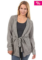 QUIKSILVER Tribeca Wrap Cardigan deep heath grey