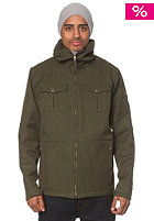 QUIKSILVER West Side Softshell Jacket dark army