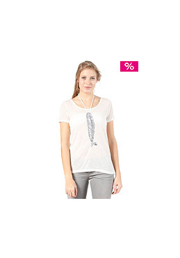 QUIKSILVER Womens Burnout S/S T-Shirt white sand