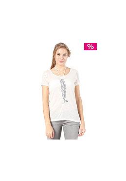 QUIKSILVER Womens Burnout S/S T-Shirt white sand
