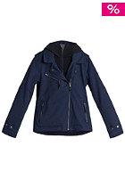 QUIKSILVER Womens Darcy Jacket indigo blue