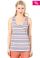 QUIKSILVER Womens Dusk To Dawn Tank Top dawn strip indigo