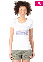 QUIKSILVER Womens I Have A Dream S/S T-Shirt white