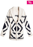 QUIKSILVER Womens Koena Knit Jacket white sand