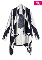 QUIKSILVER Womens Polany Blanket Knit Jacket indigo blue